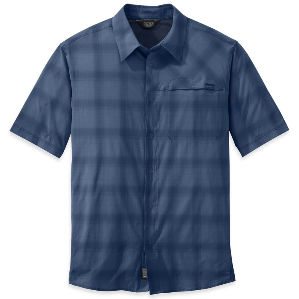 OUTDOOR RESEARCH Men's Astroman Short-Sleeve Shirt - 0364-DUSK