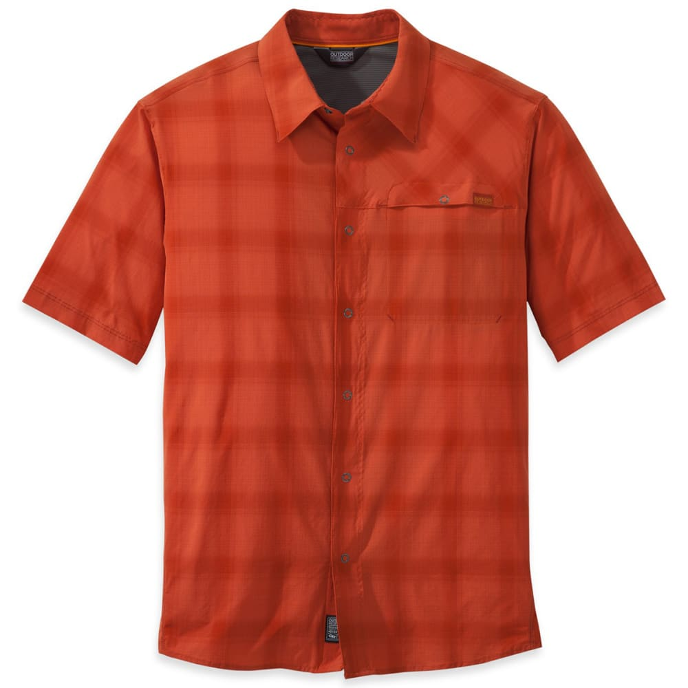 OUTDOOR RESEARCH Men's Astroman Short-Sleeve Shirt - DIABLO