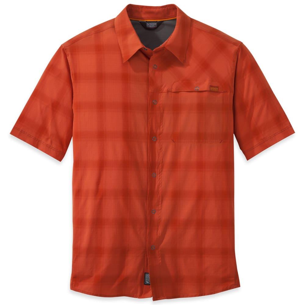 OUTDOOR RESEARCH Men's Astroman Short-Sleeve Shirt - DIABLO