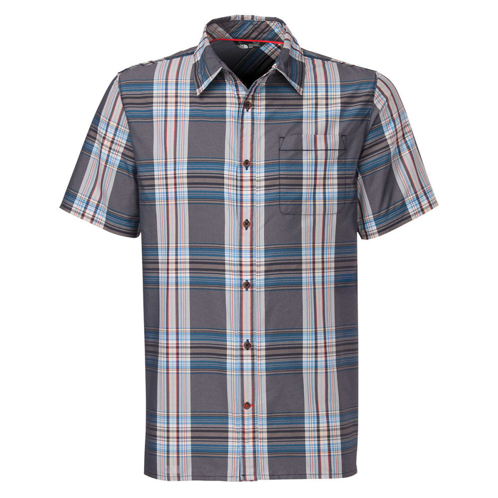 THE NORTH FACE Men's Pacific Coast Shirt, S/S - COSMIC BLUE