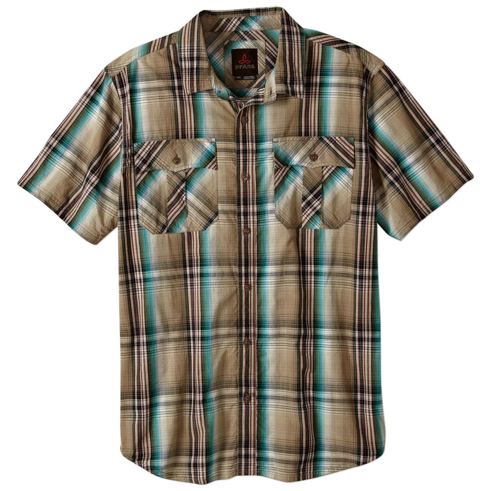 PRANA Men's Ostend Shirt - DARK KHAKI
