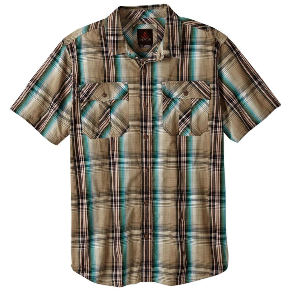 PRANA Men's Ostend Shirt - DARK KHAKI