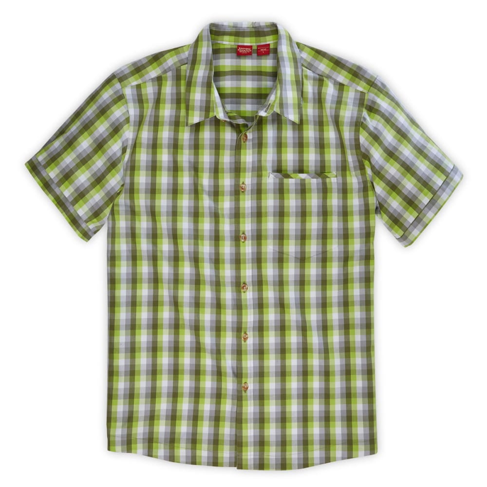 EMS® Men's Lake George Short-Sleeve Shirt - CHARTREUSE