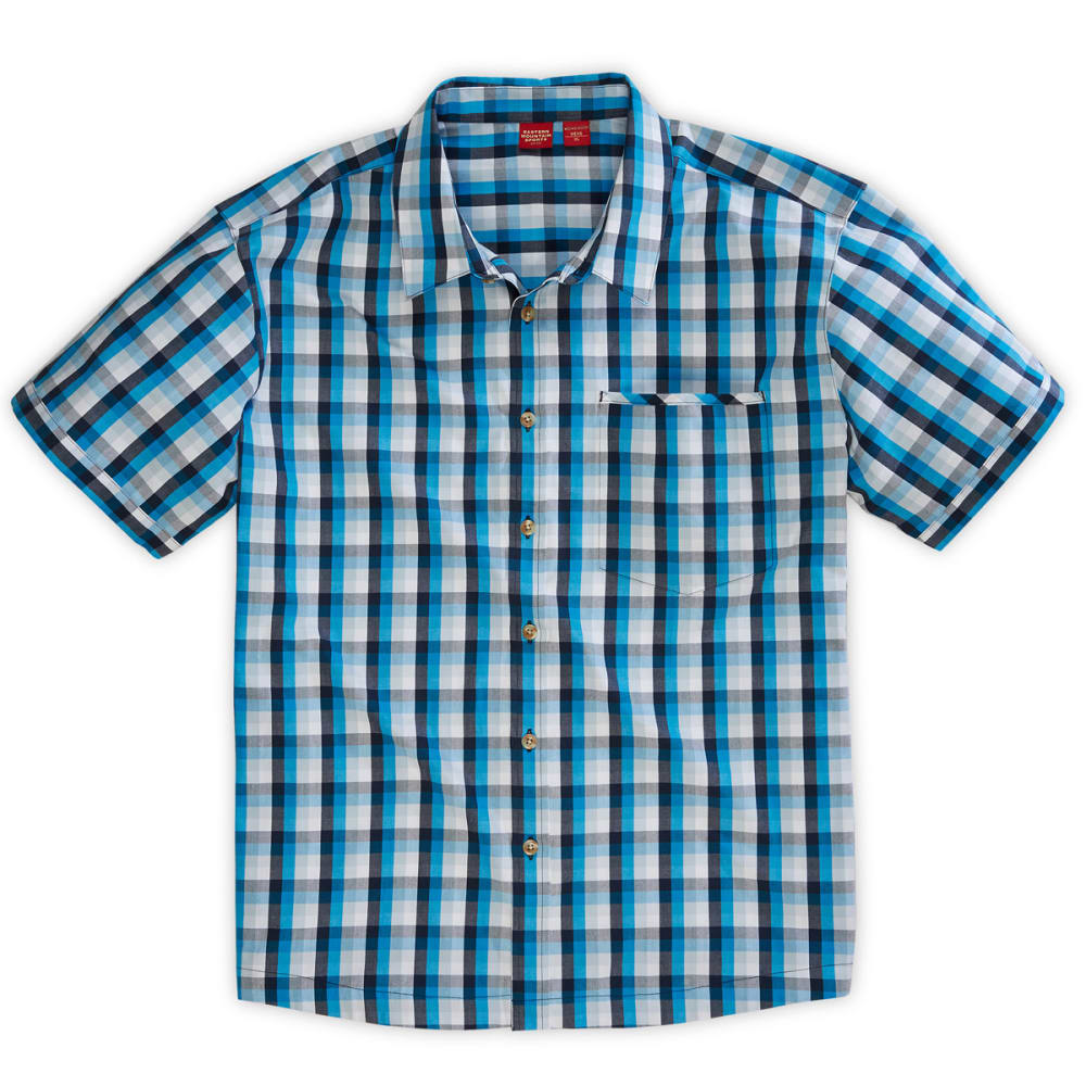 EMS® Men's Lake George Short-Sleeve Shirt - METHYL BLUE