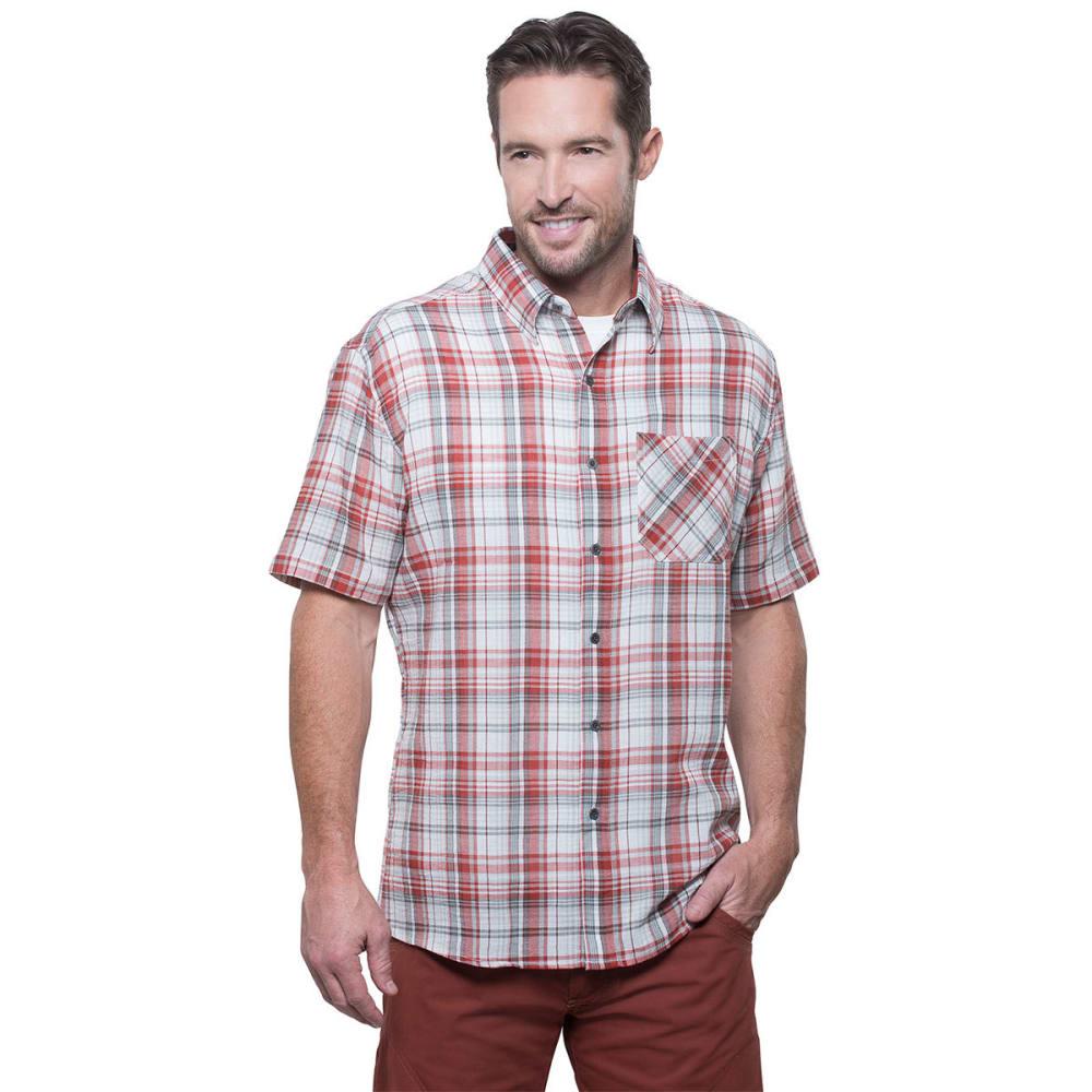 Kühl Men's Tropik Shirt - Red - Size M 7174