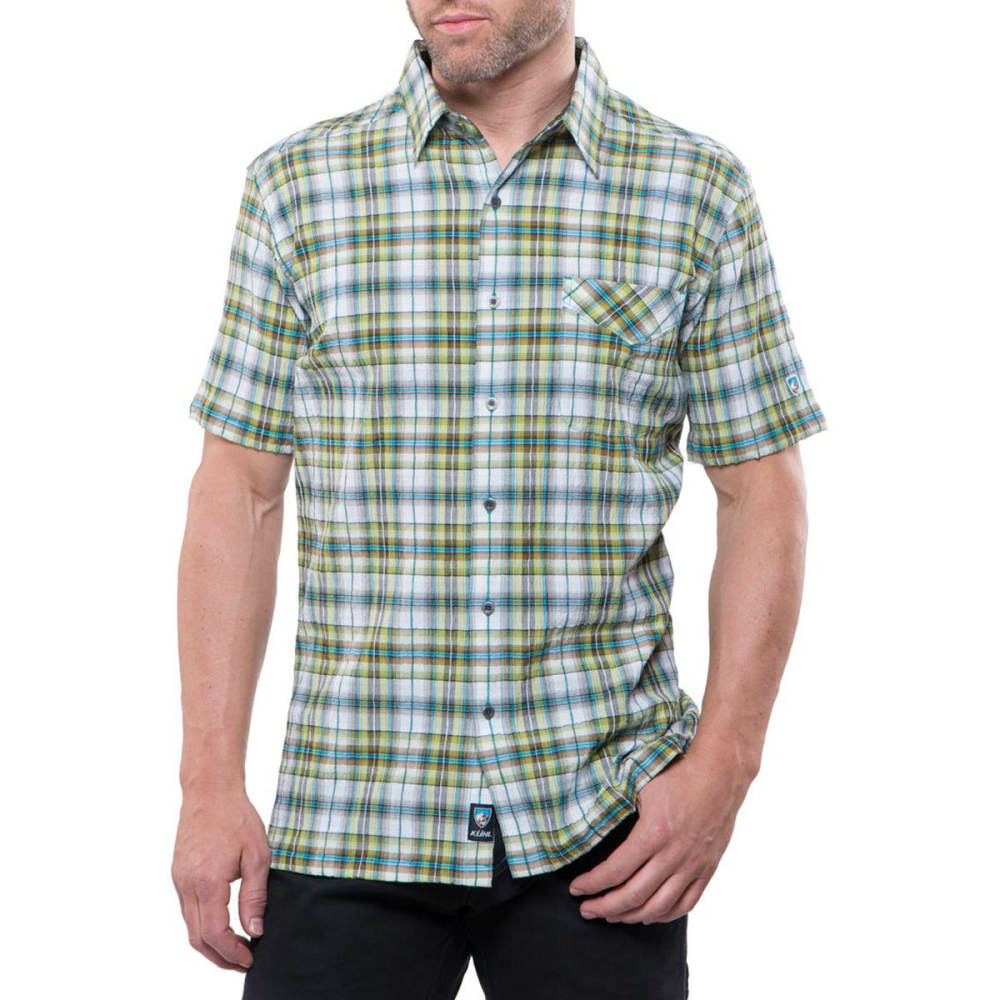 KÜHL Men's Stallion Short-Sleeve Shirt    - SKUBA LIME
