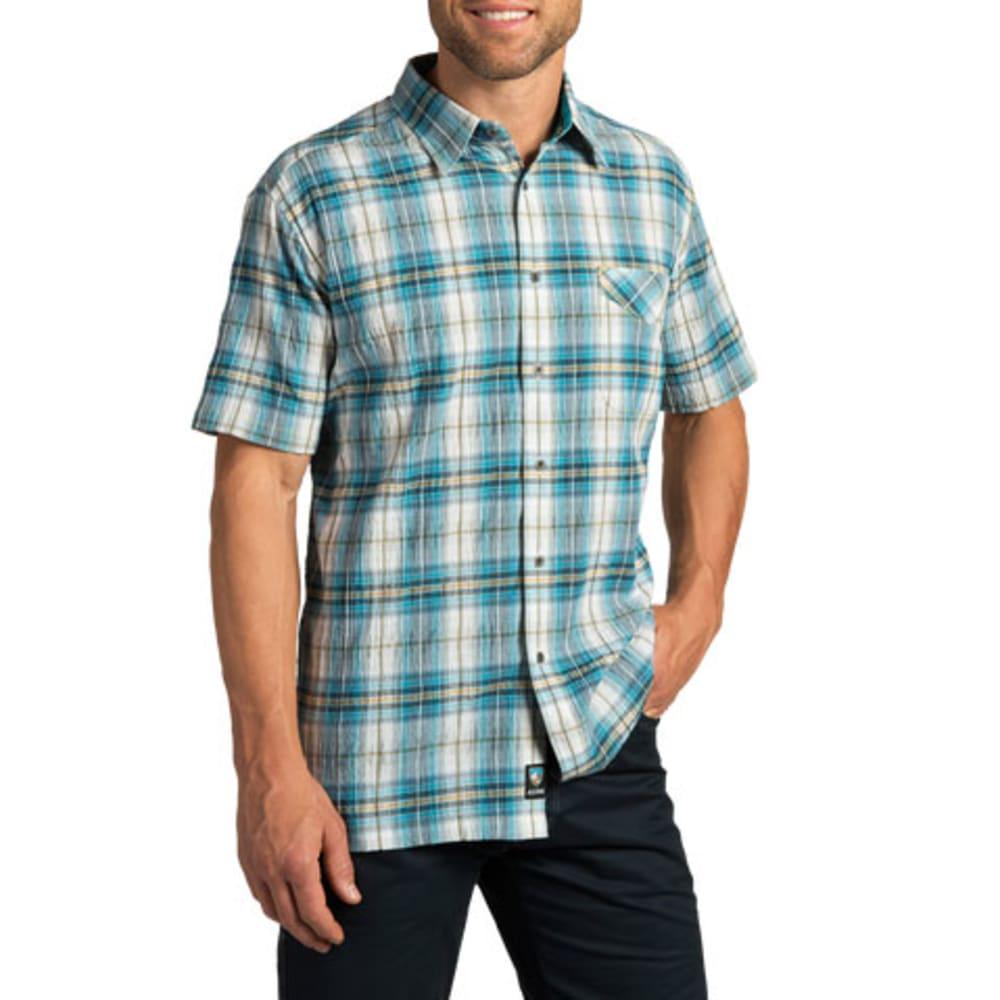 KÜHL Men's Stallion Short-Sleeve Shirt  - SKUBA BLUE