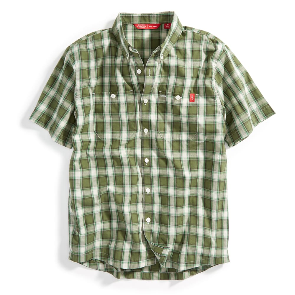 Ems men 39 s ranger short sleeve plaid shirt free shipping at 49 Short sleeve plaid shirts