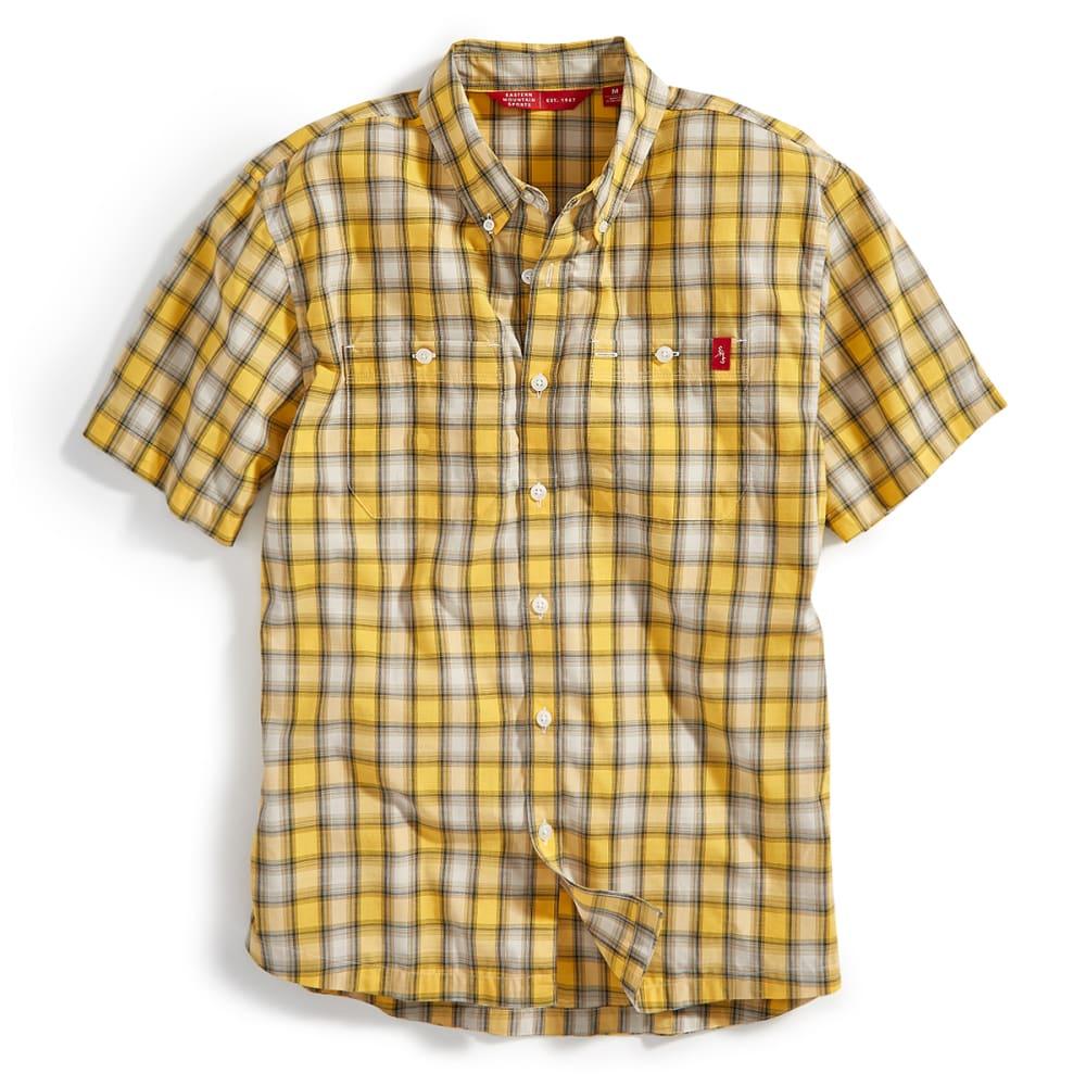 EMS® Men's Ranger Short-Sleeve Plaid Shirt - GOLDEN YELLOW