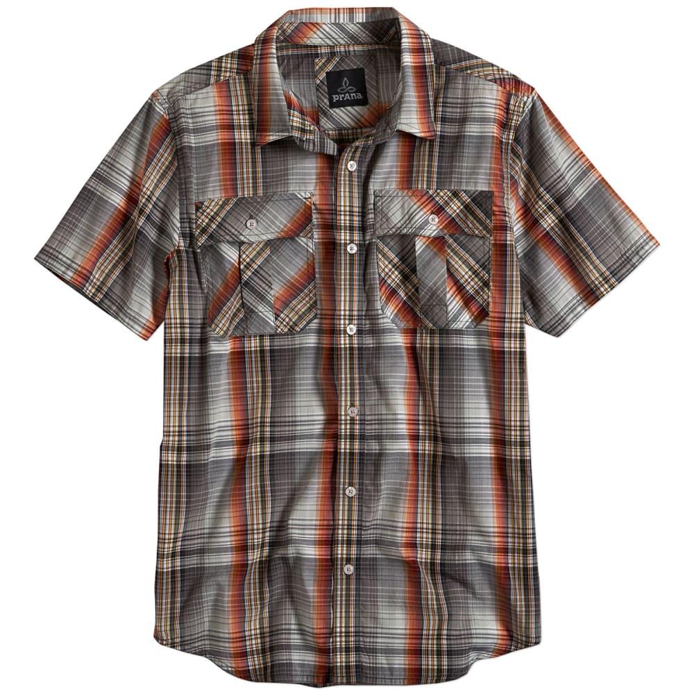PRANA Men's Ostend S/S Shirt - GRAVEL