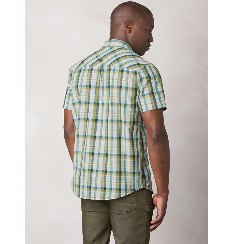 PRANA Men's Tamrack Shirt - DEEP TEAL