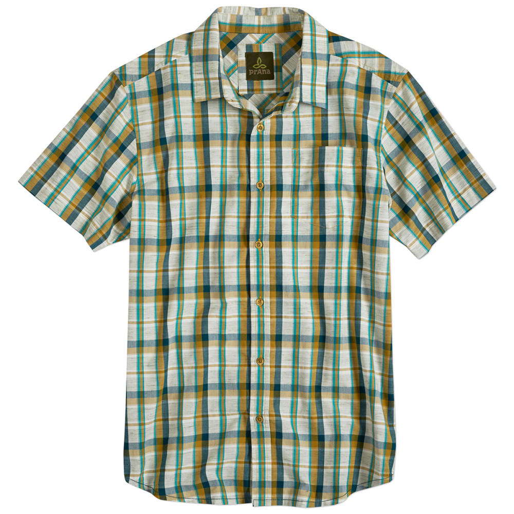 PRANA Men's Tamrack Shirt - DEEP TEAL