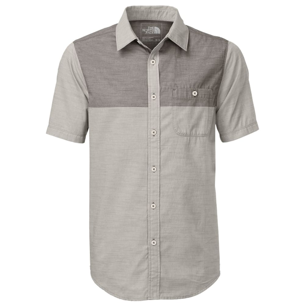 THE NORTH FACE Men's Block Me Short-Sleeve Shirt - ZINC GREY HEATHER/TN