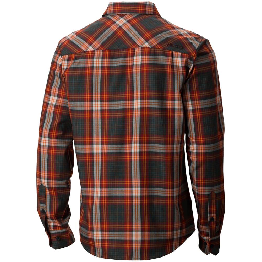 MARMOT Men's Doheny Flannel Shirt, L/S - BRICK