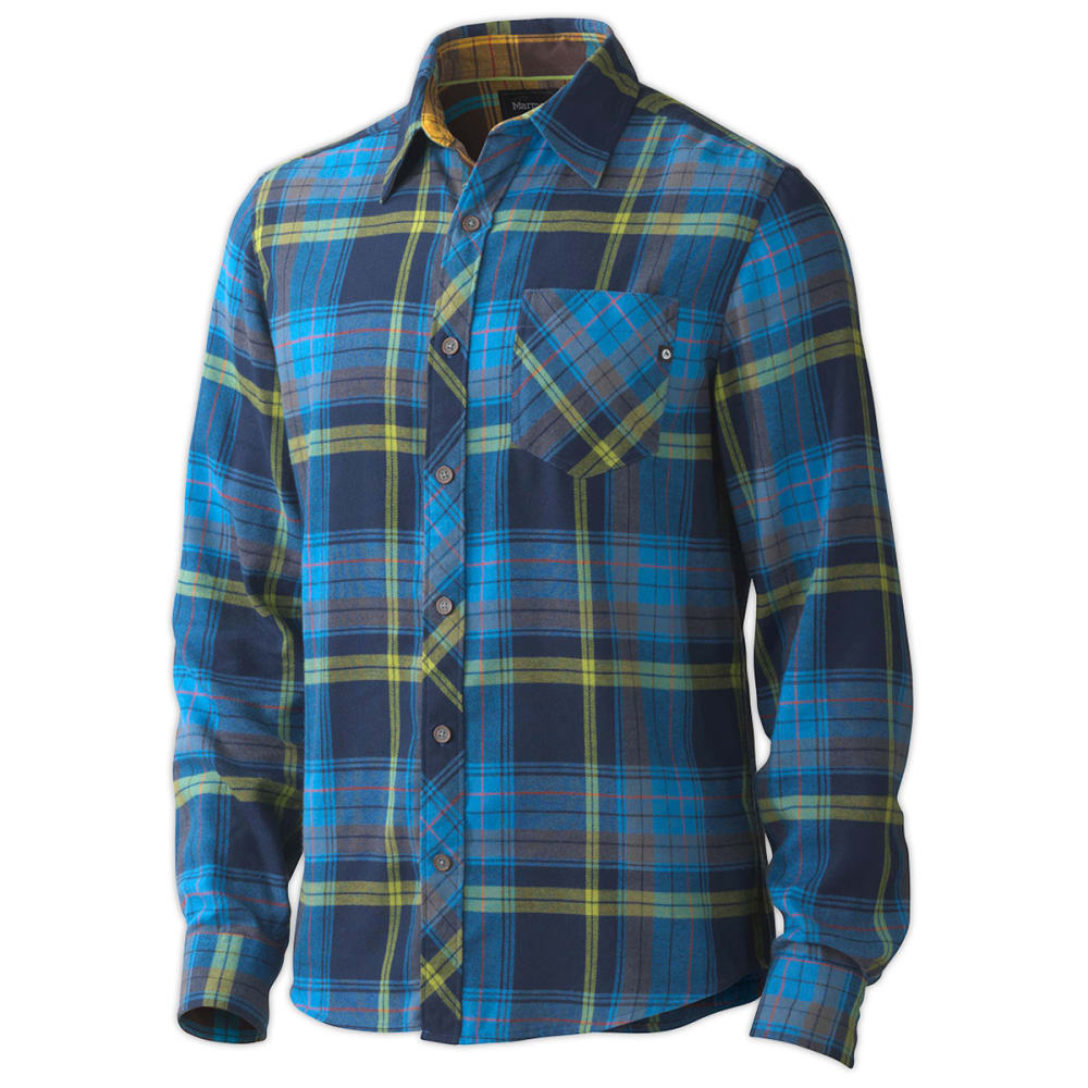 marmot men 39 s anderson flannel shirt l s