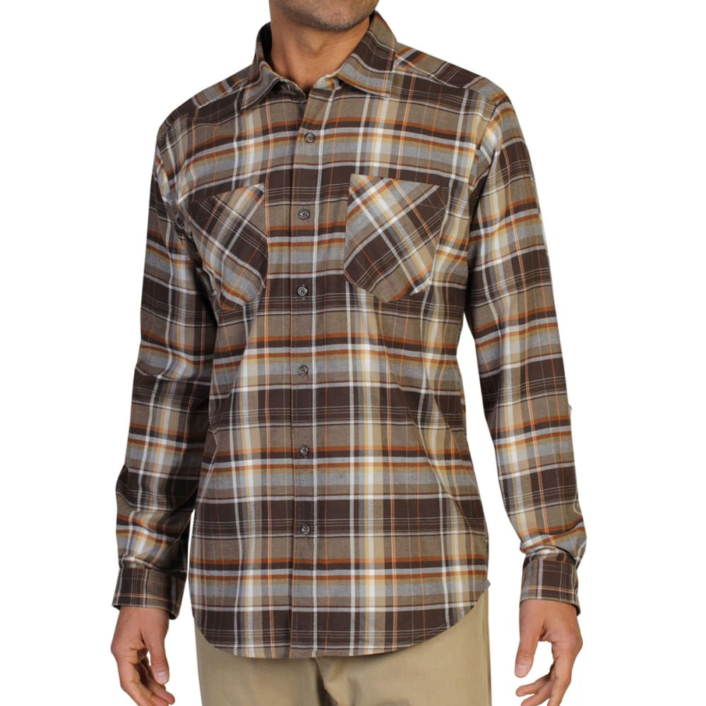 EXOFFICIO Men's Geode Flannel Shirt  - TOUGH