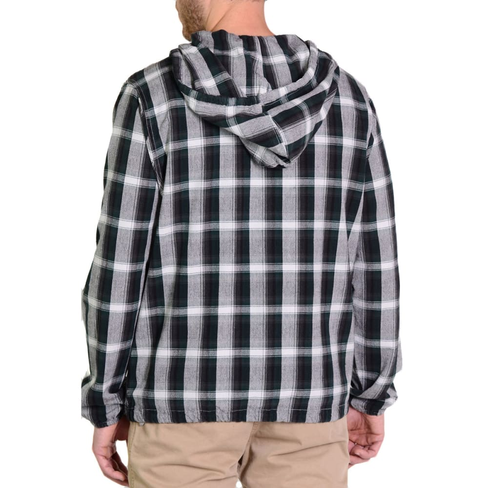 GRAMICCI Men's Rogue Hooded Shirt - GREEN SPARROW