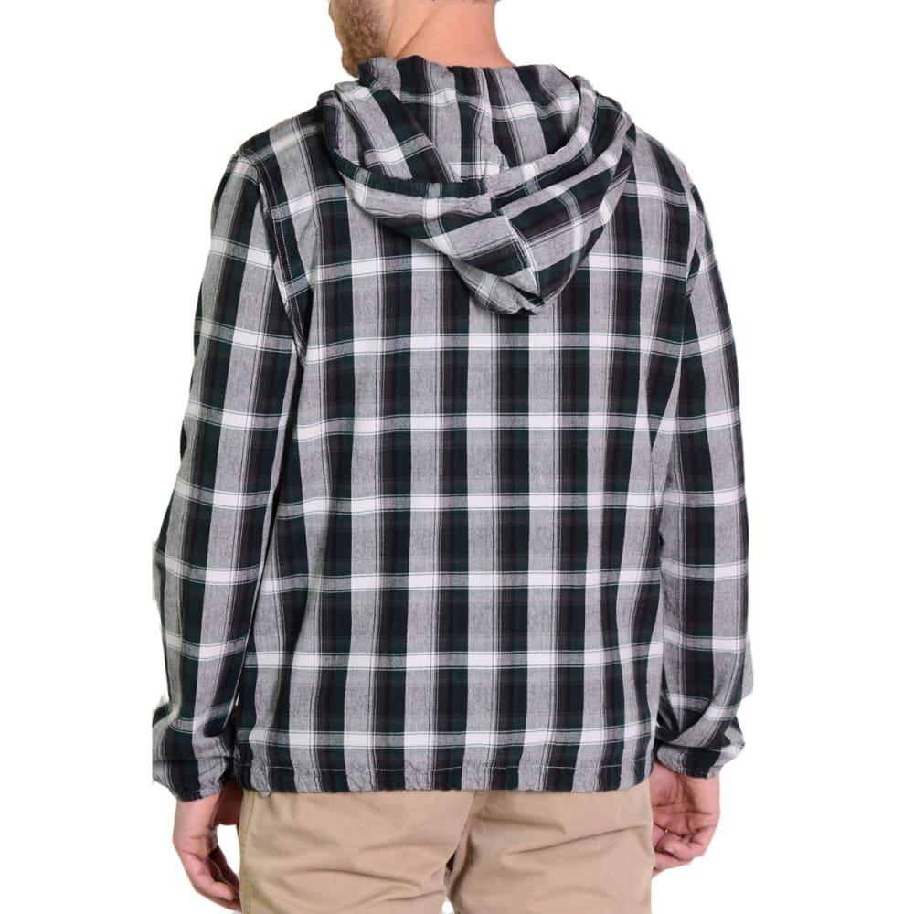 GRAMICCI Men's Rogue Hooded Shirt - GREEN SPARROW