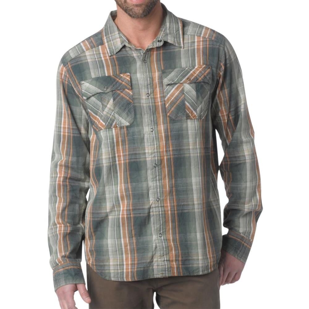 PRANA Men's Midas Shirt, L/S - PINE