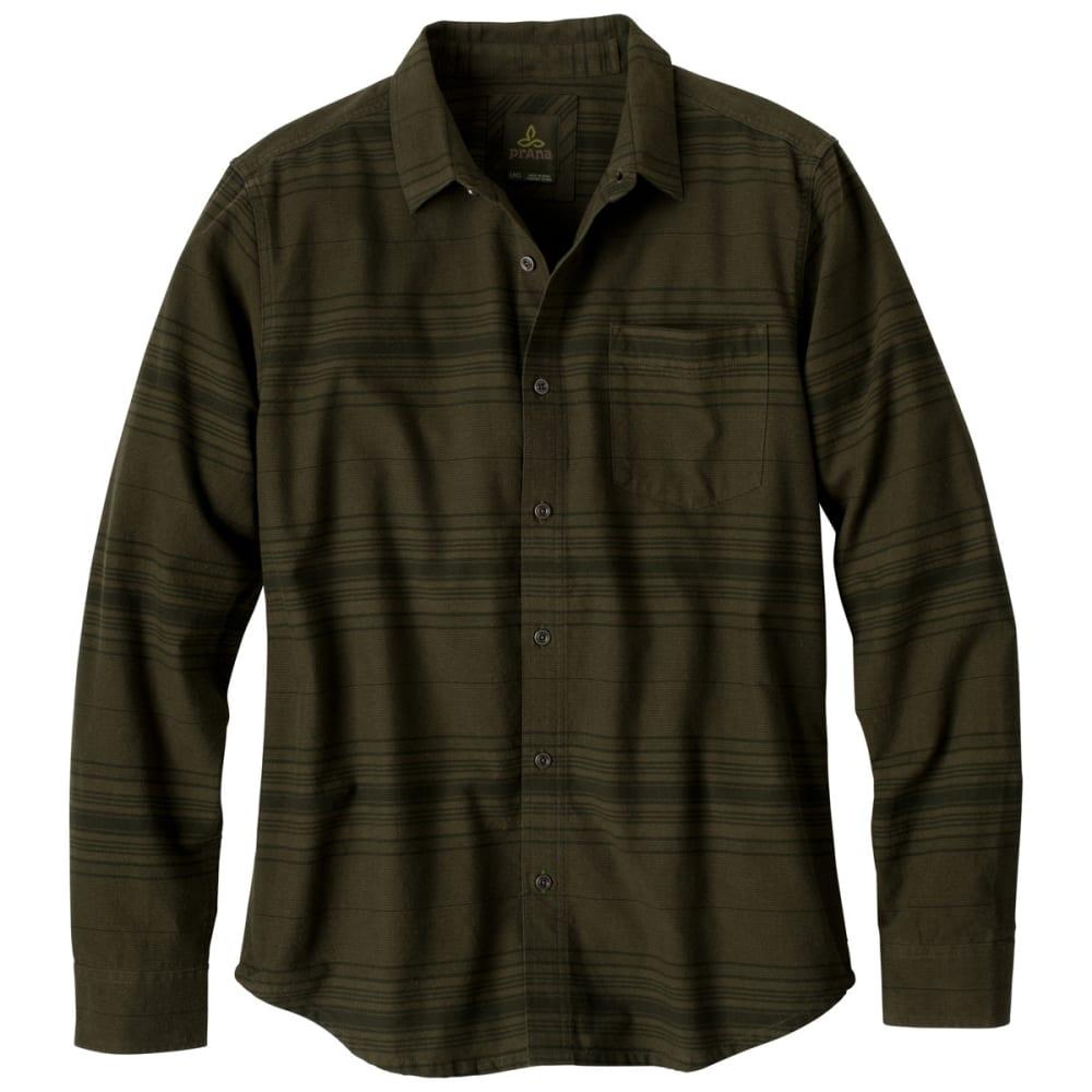 PRANA Men's Leon Shirt - CARGO GREEN