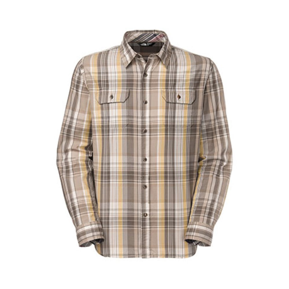 THE NORTH FACE Men's Ridgecrest Shirt, L/S - MISTED YELLOW