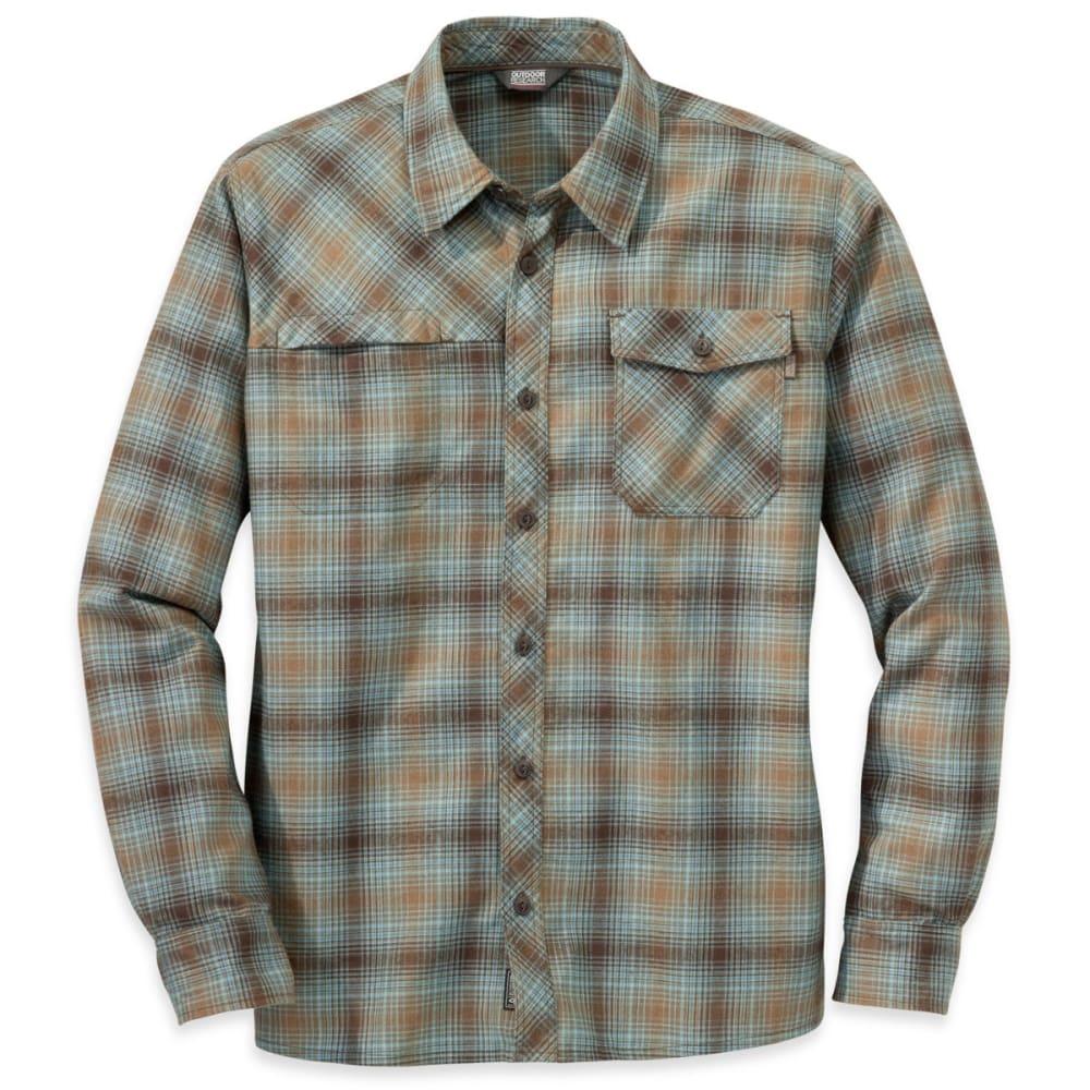 OUTDOOR RESEARCH Men's Tangent Shirt - COYOTE