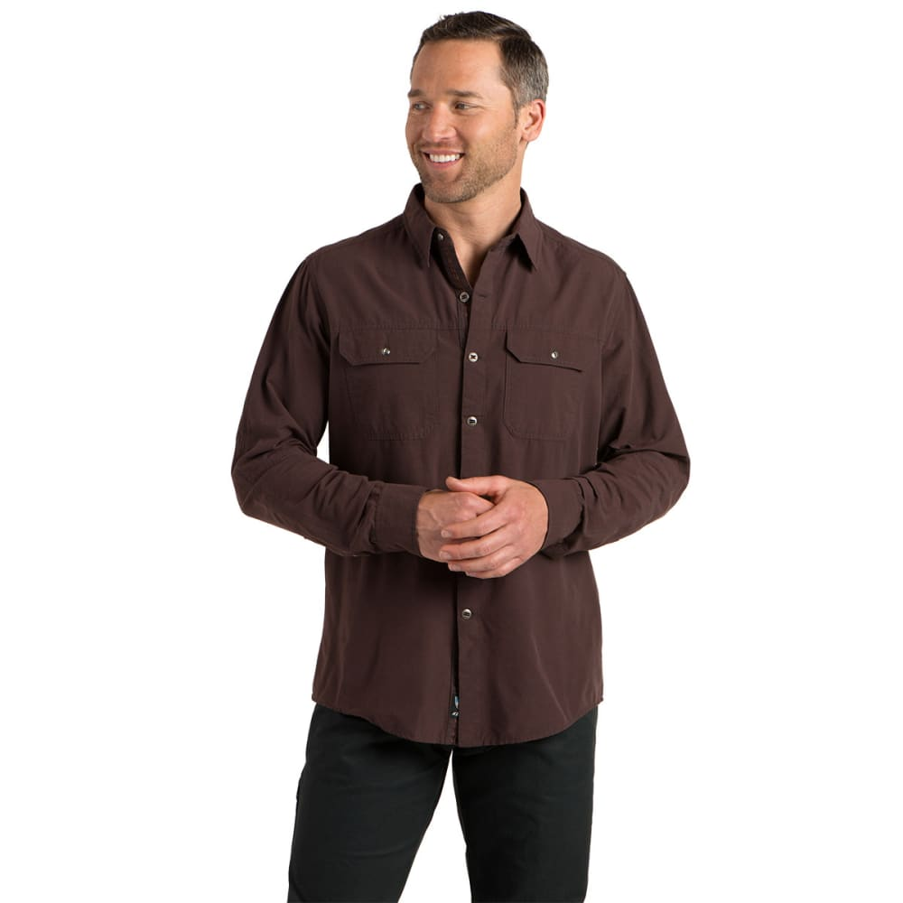 KÜHL Men's Sting Long-Sleeve Button Down   - BRICK
