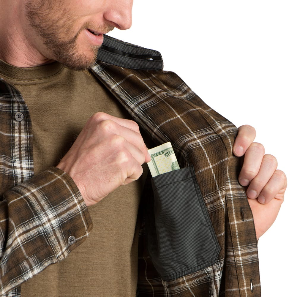 KÜHL Men's Dillngr Long-Sleeve Button Down  - ES-ESPRESSO