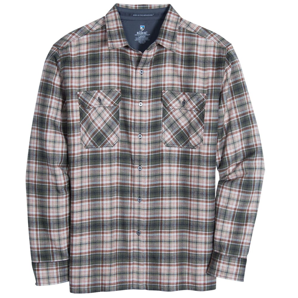 KÜHL Men's Dillngr Long-Sleeve Button Down  - OL-OLIVE