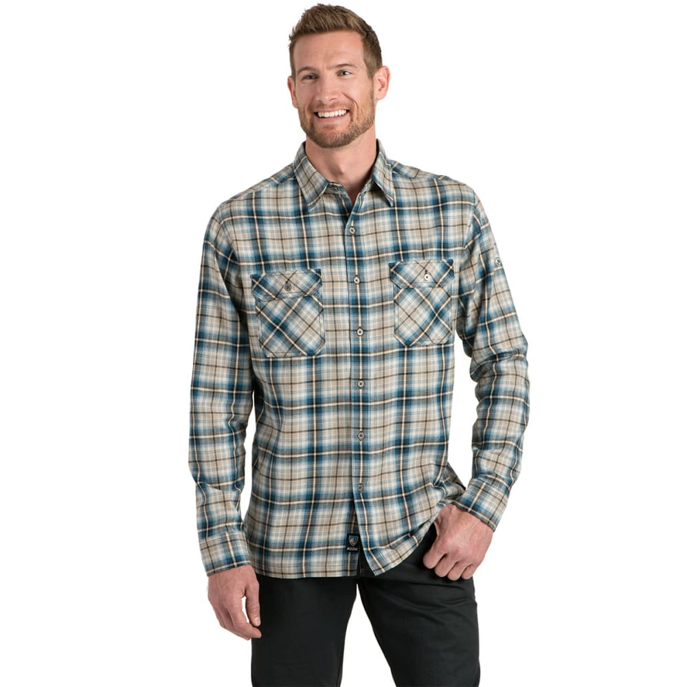 KÜHL Men's Dillngr  Long-Sleeve Button Down   - PB-PIRATE BLUE