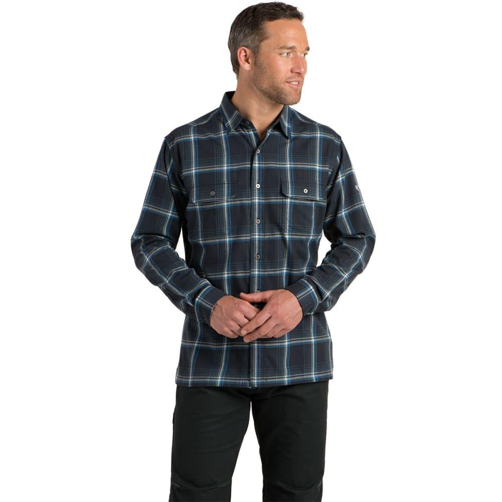 KÜHL Men's Lookout Long-Sleeve Flannel - MUTINY BLUE