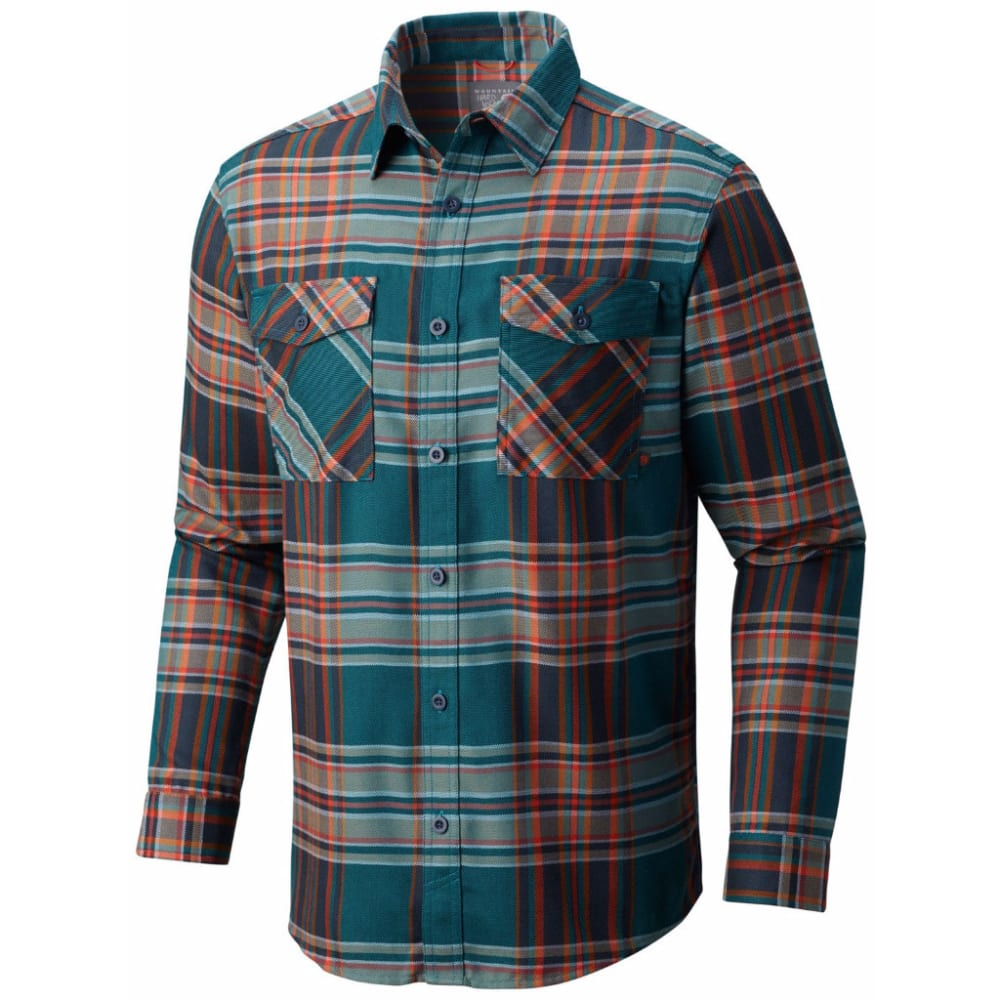 MOUNTAIN HARDWEAR Men's Trekkin' Flannel - 942-SEA LEVEL