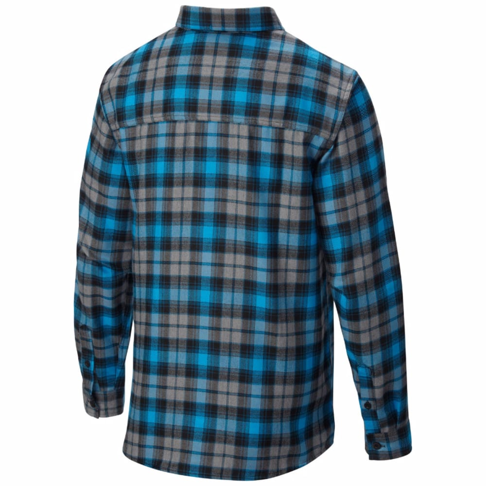 MOUNTAIN HARDWEAR Men's Trekkin' Flannel - DARK COMPASS