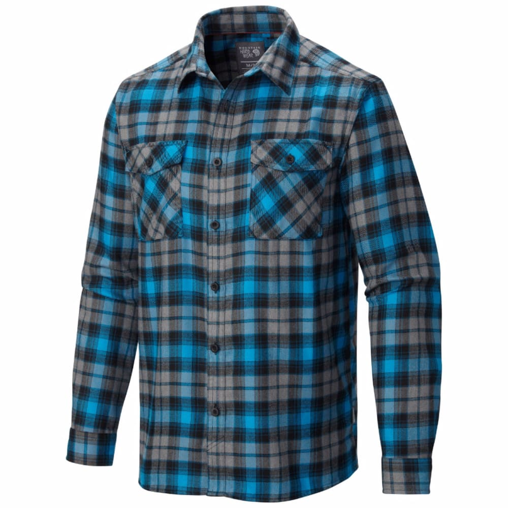 MOUNTAIN HARDWEAR Men's Trekkin' Flannel - DARK COMPASS
