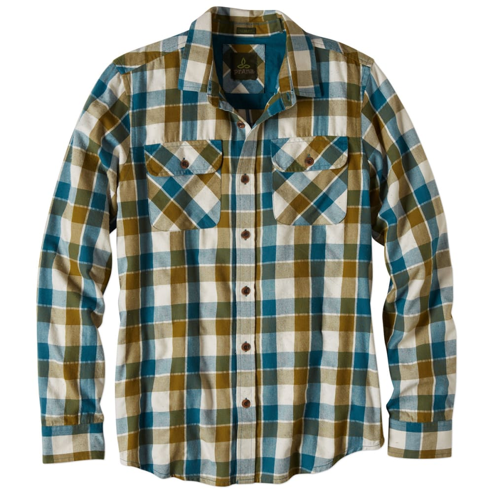 PRANA Men's Huntley Button-Down Shirt - BALSAM