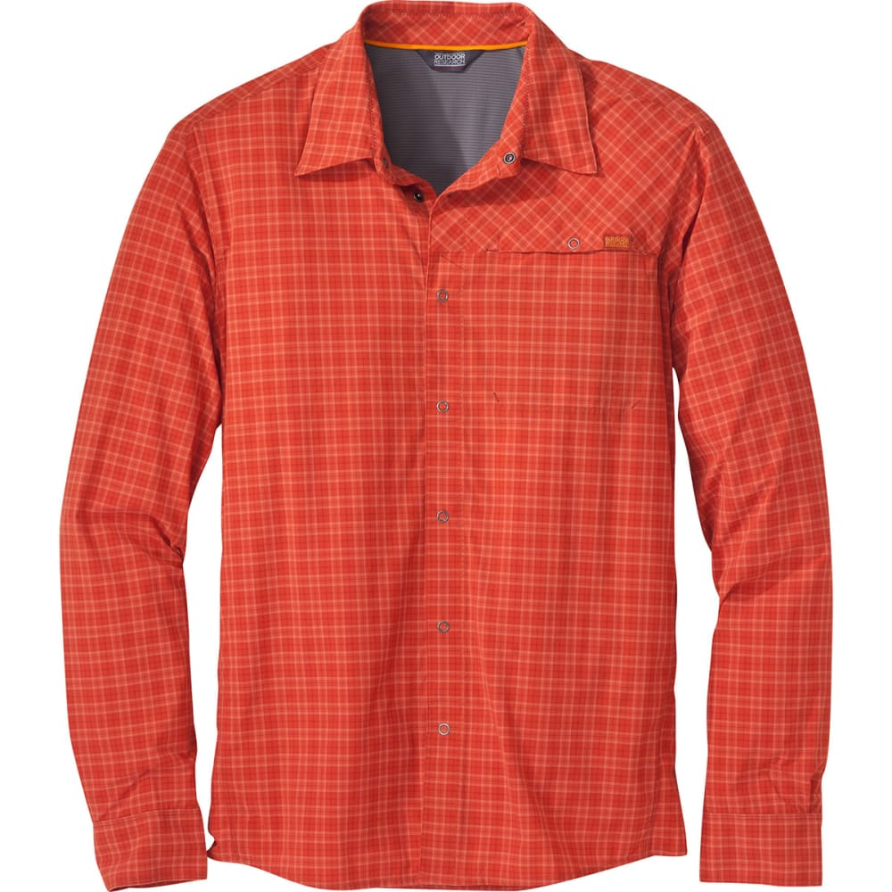 OUTDOOR RESEARCH Men's Astroman Long-Sleeve Shirt - DIABLO