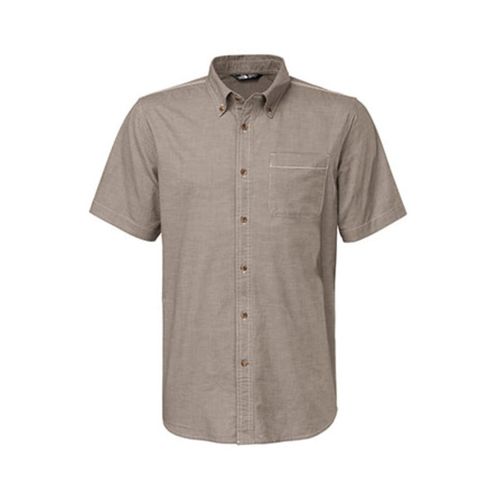 THE NORTH FACE Men's Coyote Creek Shirt, S/S - WEIMARANER BROWN
