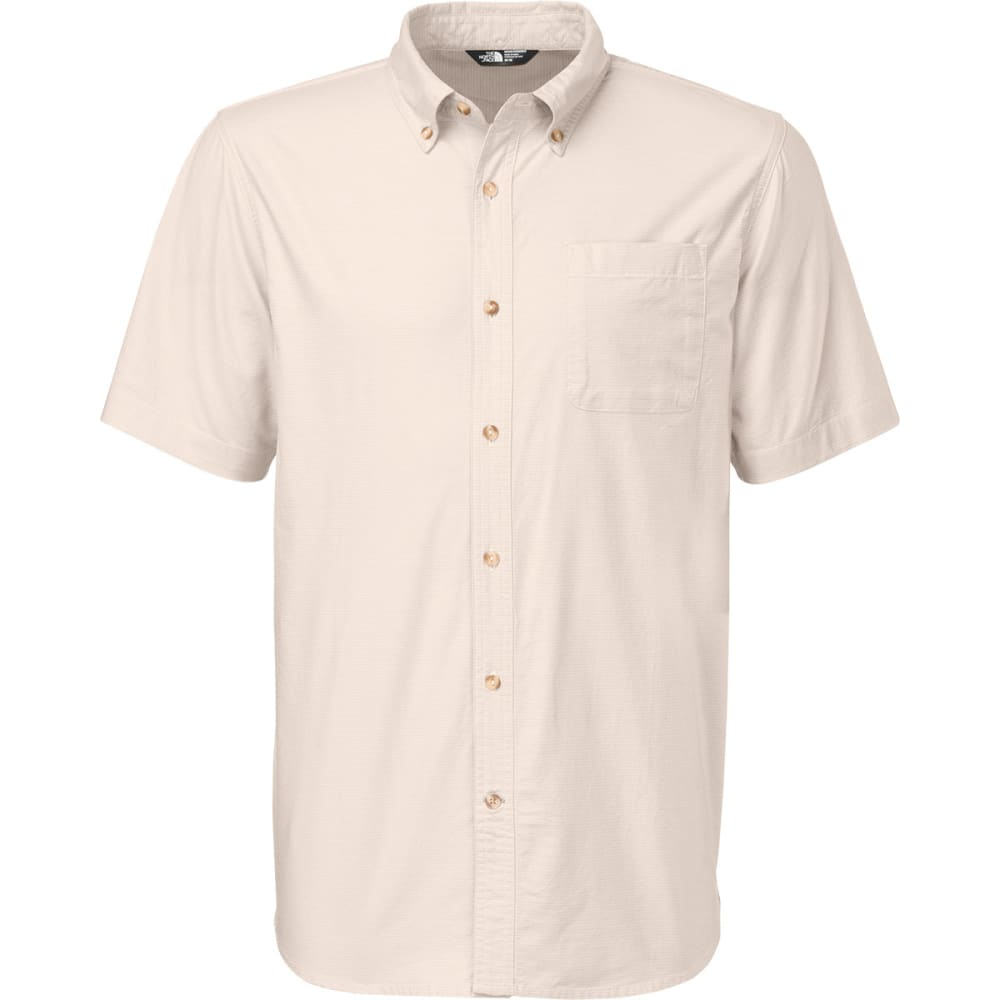 THE NORTH FACE Men's Coyote Creek Short-Sleeve Shirt - MOONSTRUCK GREY