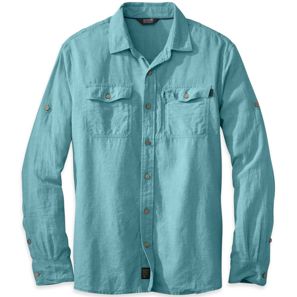 OUTDOOR RESEARCH Men's Harrelson Shirt, L/S - ICE