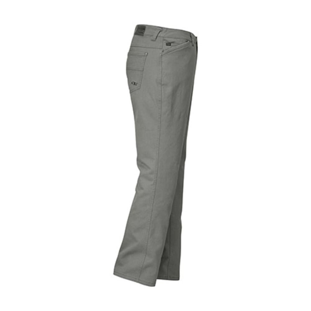 OUTDOOR RESEARCH Men's Stronghold Twill Pants - PEWTER