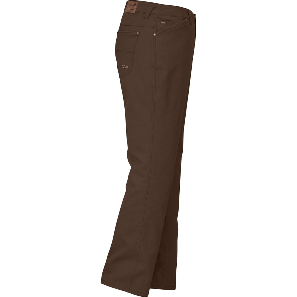 OUTDOOR RESEARCH Men's Stronghold Twill Pants - EARTH - LONG