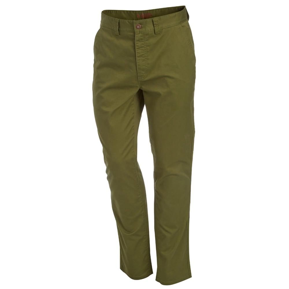 EMS® Men's Back Bay Slim Fit Stretch Chino Pants - LODEN