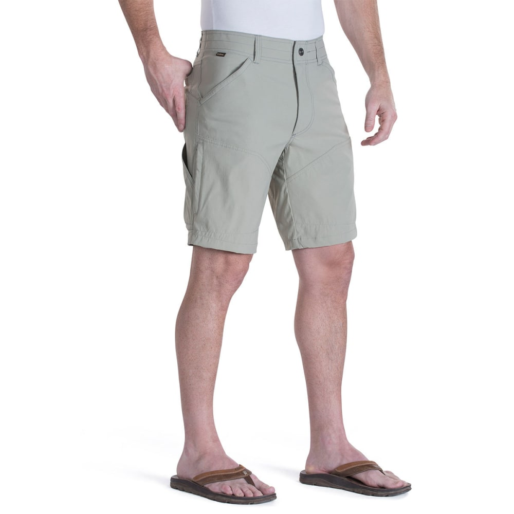 KÜHL Men's Renegade Shorts, 12 in.  - BRNI-BRUSHED NICKEL