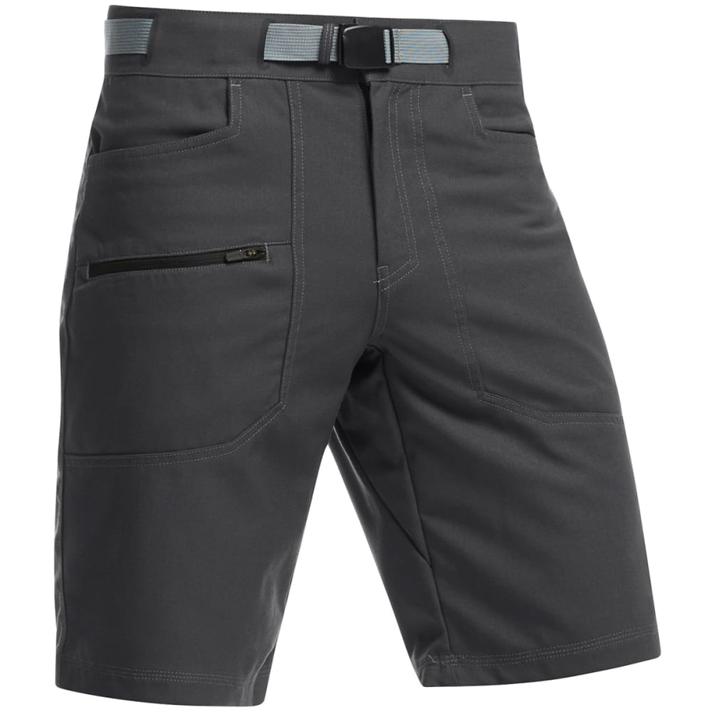 ICEBREAKER Men's Compass Shorts - MONSOON/BLACK
