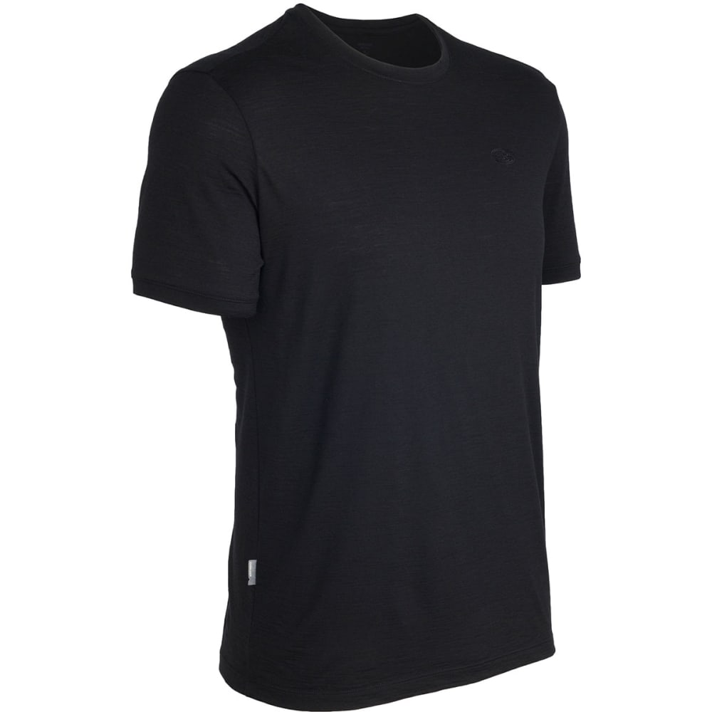 ICEBREAKER Men's Tech T Lite Crew - BLACK