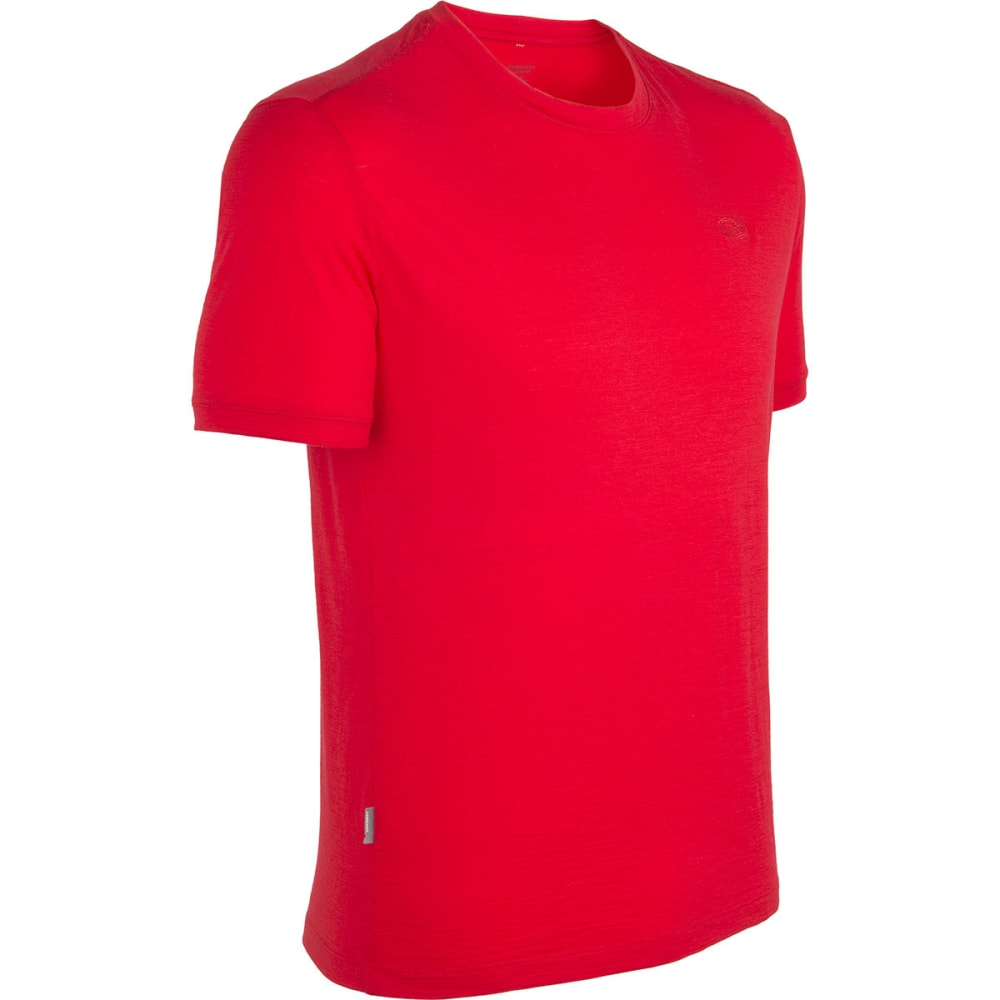 ICEBREAKER Men's Tech T Lite Crew - ROCKET