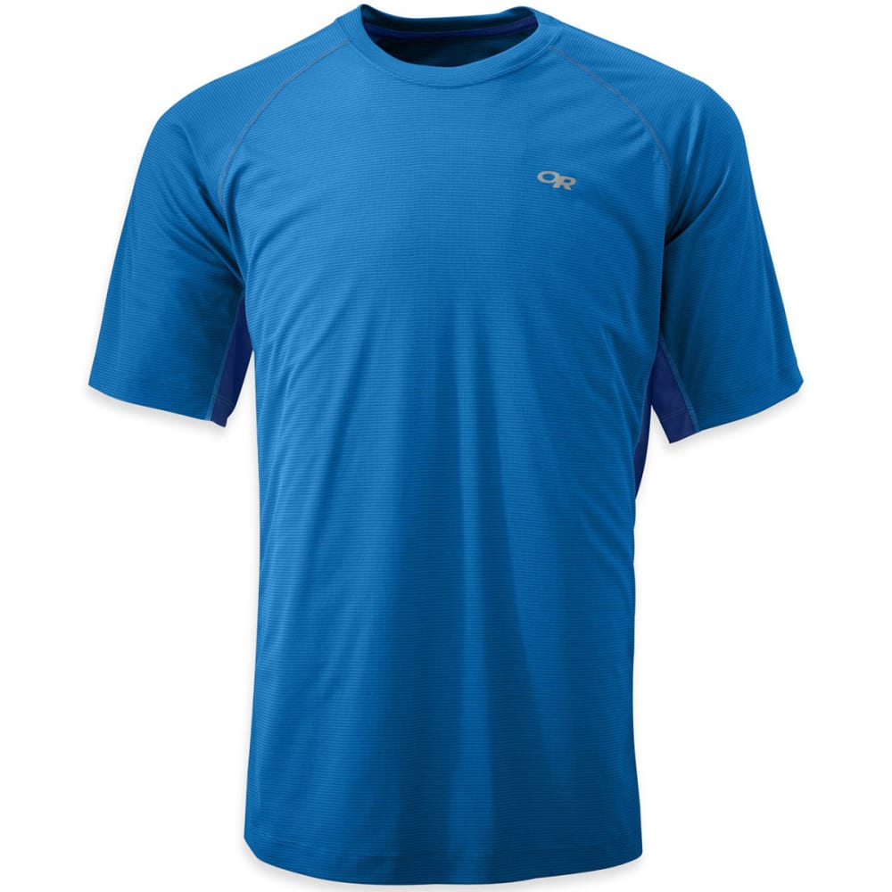 OUTDOOR RESEARCH Men's Echo Duo Tee - 0643-GLACIER/BALTIC