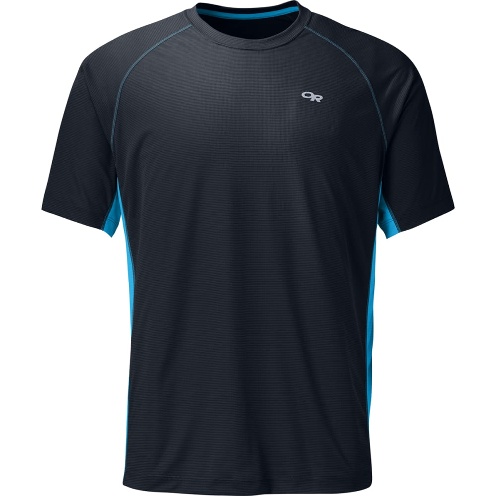 OUTDOOR RESEARCH Men's Echo Duo Tee - 0239-NIGHT/HYDRO