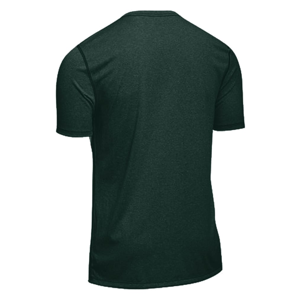 EMS® Men's Techwick® Essentials Short-Sleeve Crew  - PINE GROVE HEATHER