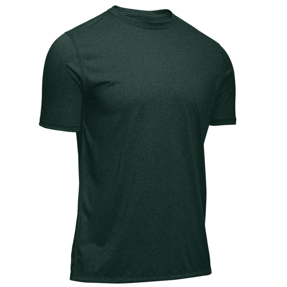 EMS® Men's Techwick® Essentials Short-Sleeve Crew   - PINE GROVE HEATHER